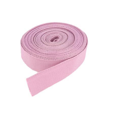 Ruban galon polyester MAUVE - Largeur 16 mm - 5 mètres