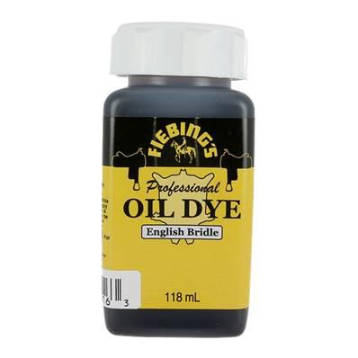 Teinture à l'huile - FIEBING'S Professionnal OIL DYE / PRO DYE - BRIDE ANGLAISE - ENGLISH BRIDLE