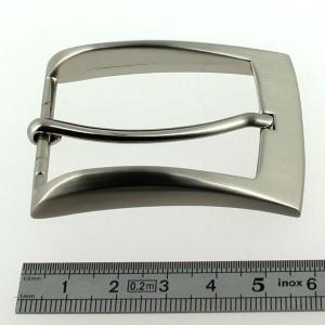 Boucle de ceinture RIO - NICKELE SATINE - 35 mm