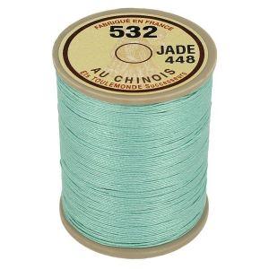 Bobine fil de lin au chinois câblé glacé - 532 - JADE 448