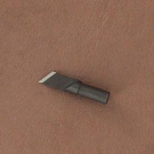 Lame fine en acier biseautée pour couteau à ouvrir - 8014