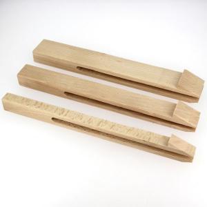 Lot de 3 pinces à passant pour pince de sellier pliante - largeur 15, 25 et 35 mm