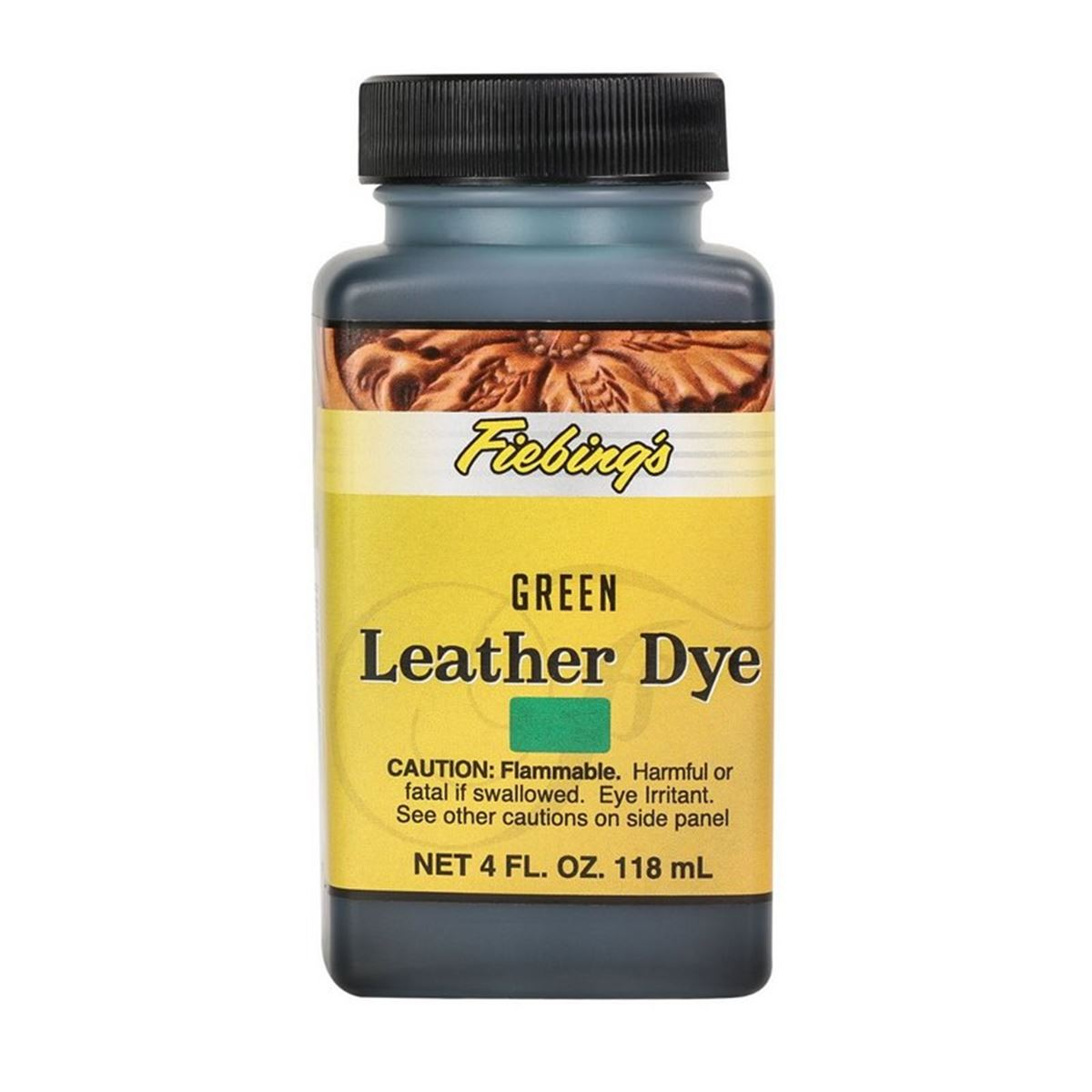 Teinture pour cuir FIEBING'S Leather dye - VERT - GREEN