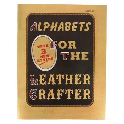 """Livre """"ALPHABETS FOR THE LEATHERCRAFTER BOOK"""" - Livre Alphabets pour les artisans de cuir"""