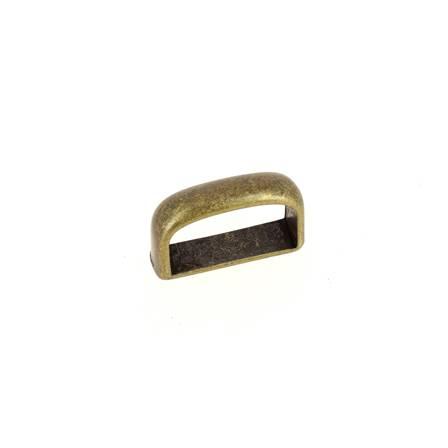 Passant de ceinture 20 mm - LAITON VIEILLI
