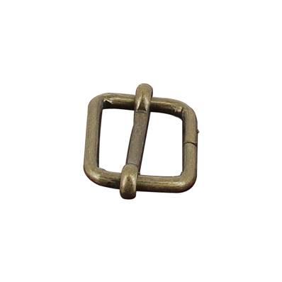 Boucle coulissante - Laiton vieilli - 25 x 20 mm - Fil 4 mm