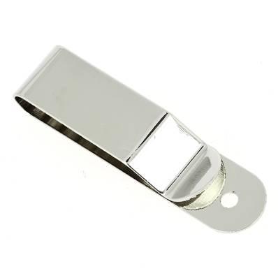 Clip pour ceinture - NICKELE - 16x68 mm