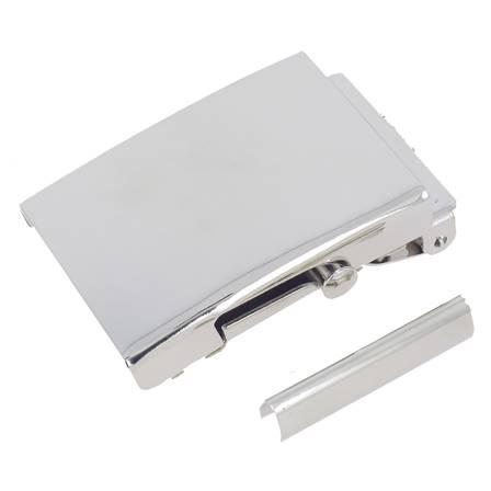 Boucle de ceinture pour sangle SAN - NICKELÉ - 40 mm