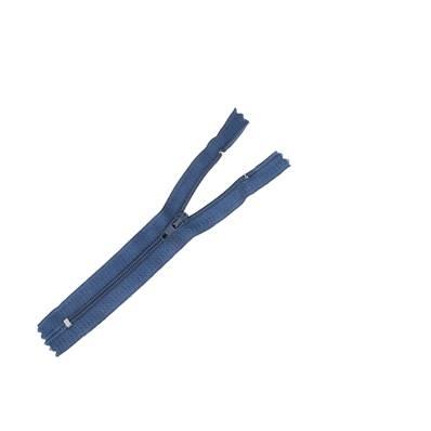 Fermeture à glissière NYLON #4 - BLEU MARINE - Longueur 14 cm