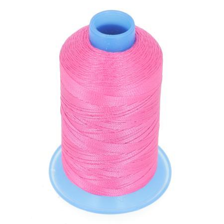 Bobine de fil polyester retors N° 30 - 400 mètres - ROSE FUCHSIA