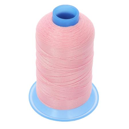 Bobine de fil polyester retors N° 30 - 400 mètres - ROSE
