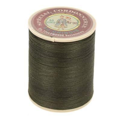 Fil Spécial Cordonnerie 100% polyester - Bobine 750 m - KAKI 840