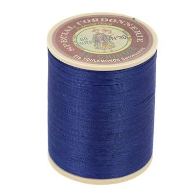 Fil Spécial Cordonnerie 100% polyester - Bobine 750 m - MARINE 678