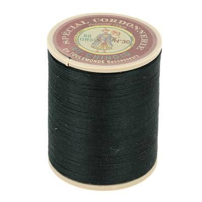 Fil Spécial Cordonnerie 100% polyester - Bobine 750 m - VERT FONCE 890