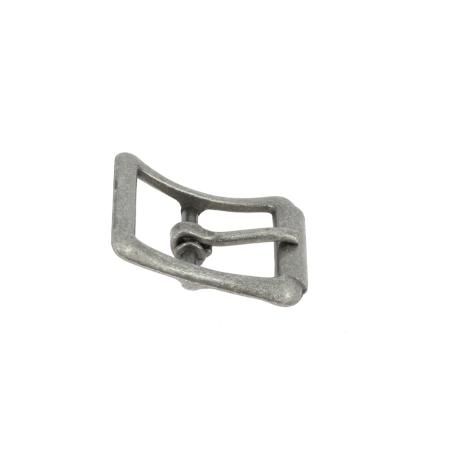 Boucle à faux rouleau TIM - ARGENT VIEILLI - 13 mm - Tandy Leather