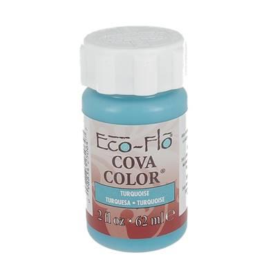 Peinture opaque à base d'eau - BLEU TURQUOISE - Cova Color Eco Flo n°10