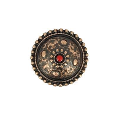 Concho CASPIENNE - 19 mm - Vieux cuivre