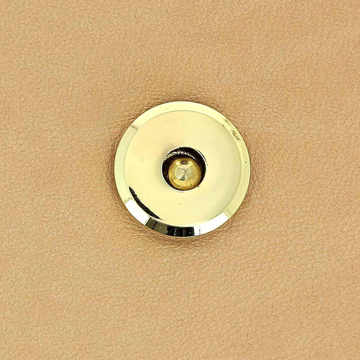 TOP magnétique POLO - Diamètre 17 mm - DORE