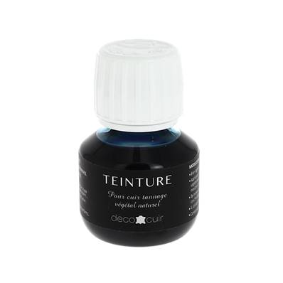 Teinture base aqueuse Deco Cuir - BLEU TURQUOISE - 60 ml