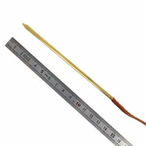 Aiguille passe lacet en cuir - taille 5