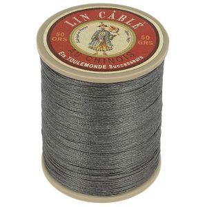Bobine fil de lin au chinois câblé glacé - 432 - ARDOISE 872
