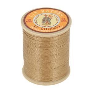 Bobine fil de lin au chinois retors extra glacé n°24 - BEIGE 250