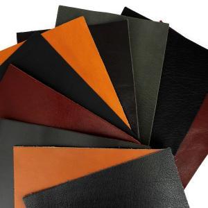 Lot SURPRISE de 10 morceaux de cuir DIVERS de dimension 15x20 cm - NOIR et MARRON