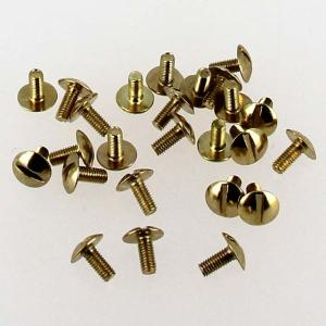 Lot de 25 vis 3x7 mm - Laiton