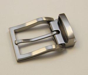 Boucle de ceinture à griffe CID - NICKELÉ SATINÉ - 30 mm