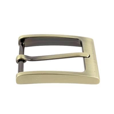 Boucle de ceinture TOM - LAITON VIEILLI SATINE - 35 mm