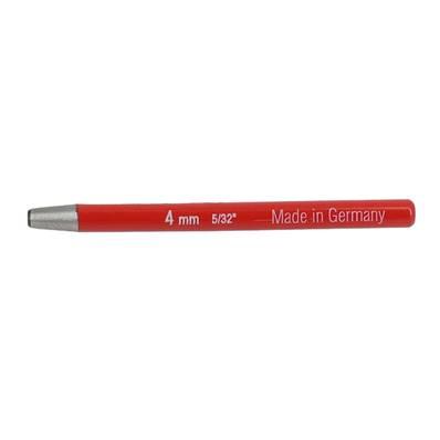 Emporte pièce à frapper ROND manche DROIT - diam : 4 mm