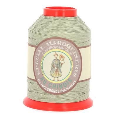 Fil Spécial Maroquinerie polyester coton - 28/4 - 0,52 mm - GRIS