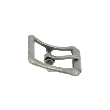 Boucle à faux rouleau TIM - ARGENT VIEILLI - 16 mm - Tandy Leather