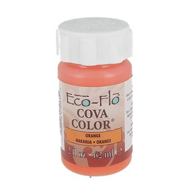 Peinture opaque à base d'eau - ORANGE - Cova Color Eco Flo n°9