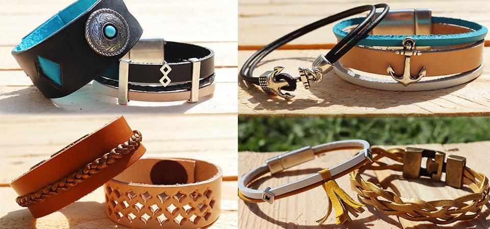 8 idées de bijoux en cuir à faire soi-même