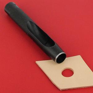 Emporte-pièce à frapper ROND manche DROIT - Diam 14 mm