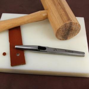 Emporte pièce à frapper rond diam 6 mm - Vergez Blanchard