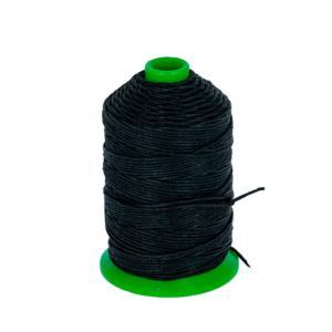 Bobine fil de lin satiné CAMPBELL'S - 132 - d = 0,82 mm - NOIR