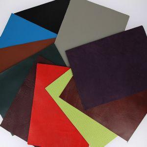 Lot SURPRISE de 10 morceaux de cuir DIVERS de dimension 15x20 cm