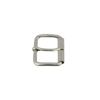 Boucle à rouleau à ardillon - ARGENT VIEILLI - 25 mm