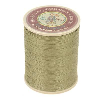 Fil Spécial Cordonnerie 100% polyester - Bobine 750 m - LICHEN 280