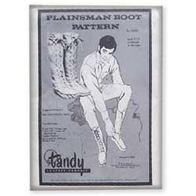 Patrons pour bottes Plainsman en cuir - 62690