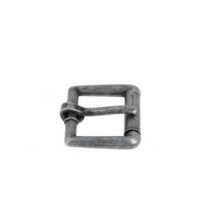 Boucle à rouleau YOU - ARGENT VIEILLI - 13 mm - Tandy Leather