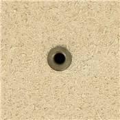 Lot de 100 rivets MARTELES - 6 mm - LAITON VIEILLI