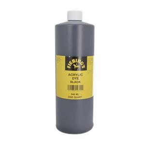 Peinture opaque - Fiebing's Acrylic Dye - NOIR / BLACK - 946ml