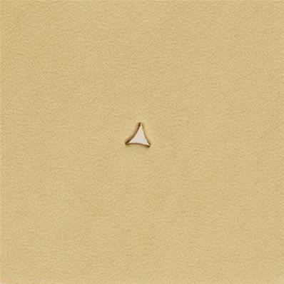 Embout emporte-pièce de précision - TRIANGLE COURBE - 2,5x2,5 mm