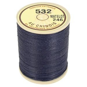 Bobine fil de lin au chinois câblé glacé - 532 - MATELOT 246