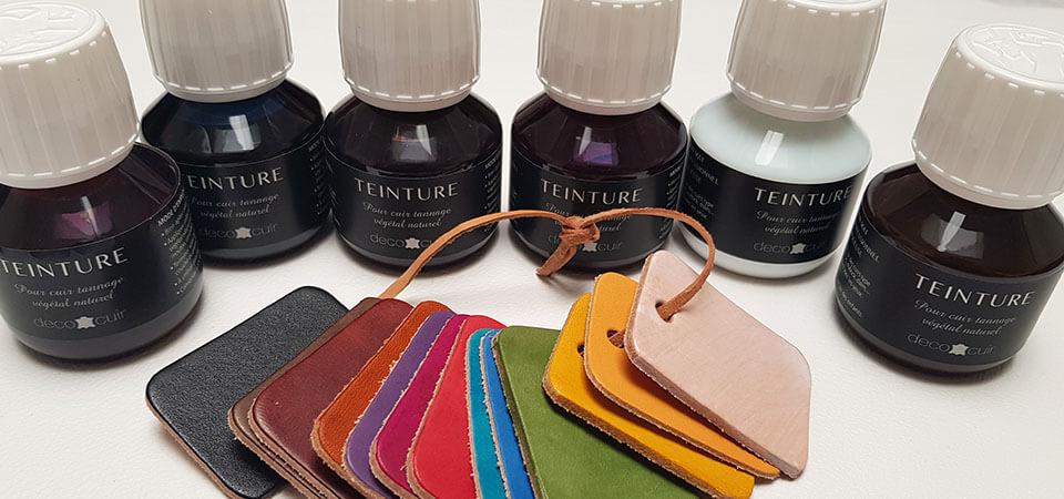Bien choisir sa teinture pour le cuir - Le Guide   Deco Cuir