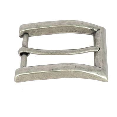 Boucle de ceinture JOE - VIEUX NICKEL - 40 mm