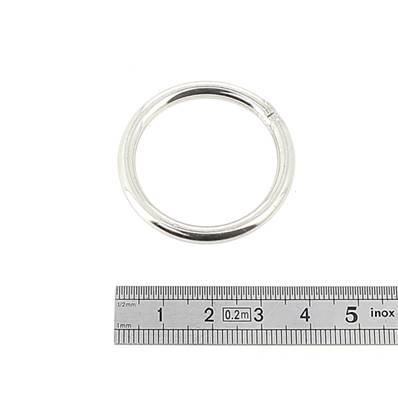 Anneau rond soudé - INOX - 30 mm - Fil 4 mm